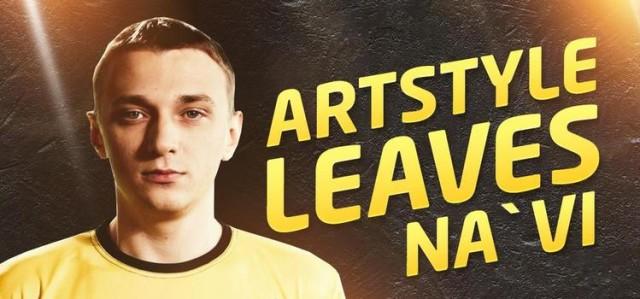 ArtStyle покидает команду Na'Vi